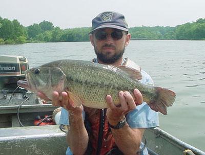 Pfbc 2007 biologist report lake galena for Pa fish records