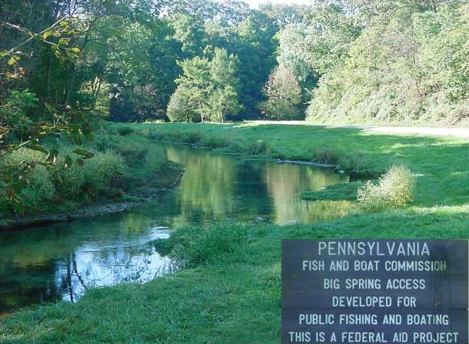 2004 biologist report big spring for Spring creek pa fishing report
