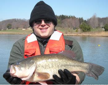 Pfbc 2009 biologist report keystone lake for Keystone lake fishing report