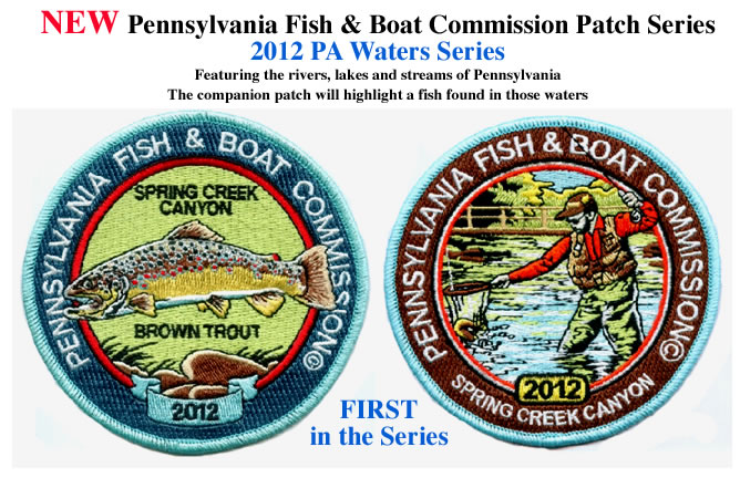 PA Water Series patches