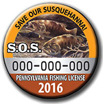 Save Our Susquehanna button
