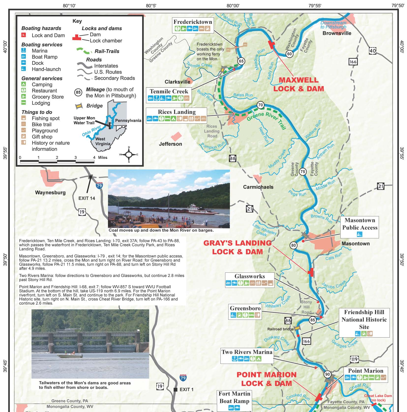 Pennsylvania Virginia Map.Pennsylvania Water Trail Guides And Maps