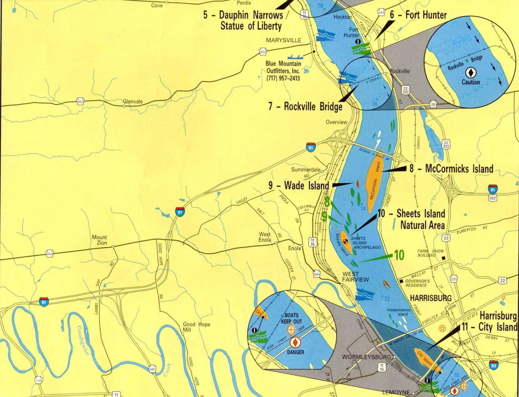 Water Trail Maps Aid Boaters 39 Safety